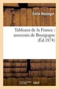 Tableaux de la France  Bourgogne  ed 1874