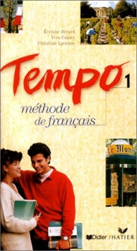 Tempo 1 : Méthode de français (coffret 3 cassettes)