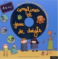 Comptines et jeux de doigts 2 (1 livre + CD)