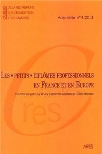 Cahiers de la recherche sur l'éducation et les savoirs, Hors-série n°4/2013 : Les