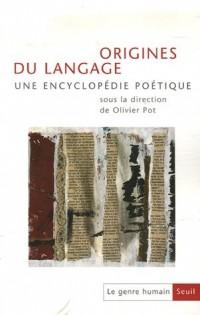 Le genre humain, N° 45/46 : Origines du langage
