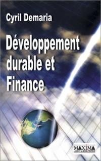 Développement durable et finance