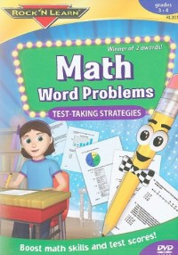 Math Word Problems Test-Taking Strategies DVD
