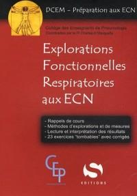 Explorations fonctionnelles respiratoires aux ECN