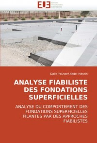 Analyse Fiabiliste Des Fondations Superficielles