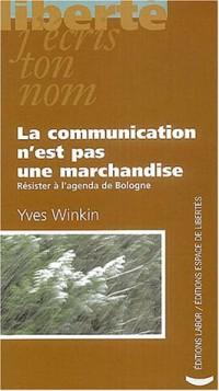 La communication n'est pas une marchandise : Résister à l'agenda de Bologne