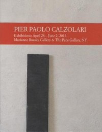 Pier Paolo Calzolari: Exhibitions: April 28 - June 2, 2012 Marianne Boesky Gallery & the Pace Gallery, Ny