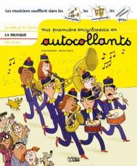 Ma première encyclopédie en autocollants : la musique - Dès 4 ans