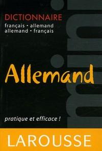 Mini dictionnaire français-allemand et allemand-français