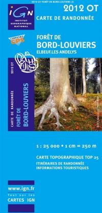 Foret De Bord-Louviers / Elbeuf / Les Andelys GPS: Ign.2012ot