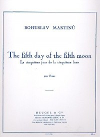 The fifth day of the fifth moon (Le cinquieme jour de la cinquieme lune) pour Piano