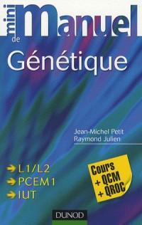 Mini Manuel de Génétique : Cours + QCM/QROC