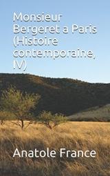 Monsieur Bergeret a Paris (Histoire contemporaine, IV)