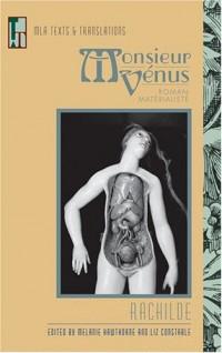 Monsieur Venus: Roman Materialiste
