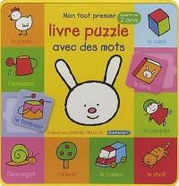Mon tout premier livre puzzle avec des mots