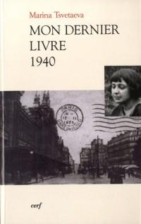 Mon dernier livre 1940 : Edition bilingue français-russe