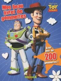 Mon beau livret de gommettes Toy Story