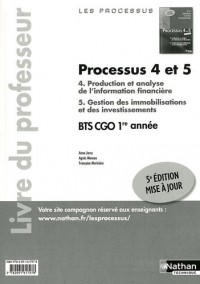 Processus 4/5 Bts Première Annee Cgo (les Processus)P Rofesseur 2011