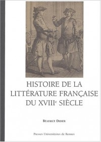Histoire de la littérature française du XVIIIe siècle