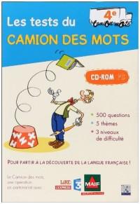 Les tests du Camion des mots 4e : CD-ROM