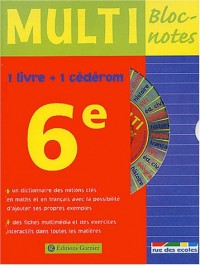 Multi Bloc-notes 6ème (1 CD-Rom inclus)