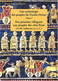 Peuples de l'Orient ancien, tome 1