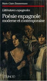 Poésie espagnole moderne et contemporaine