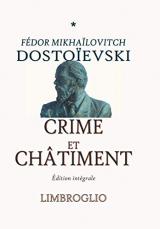 CRIME ET CHÂTIMENT: Édition intégrale