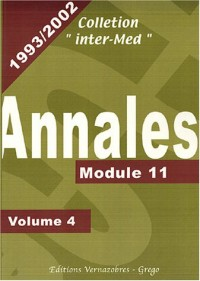 Annales 1993-2002 : Volume 4, Module 11