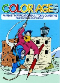Coloriages Phares et Fortifications du Litteral Charentais