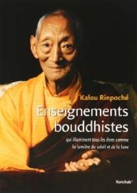 Enseignements bouddhistes qui illuminent tous les êtres comme la lumière du soleil et de la lune