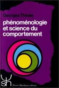 Phénoménologie et science du comportement