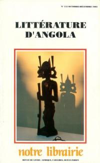 115- Litterature d'Angola