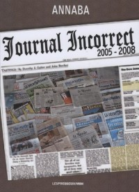 Journal incorrect