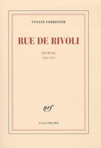 Rue de Rivoli : Journal (1966-1972)
