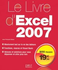 Le Livre d'Excel 2007