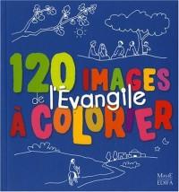 120 images de l'Evangile à colorier