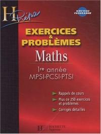 Maths 1ère année MPSI-PCSI-PTSI : Exercices & problèmes