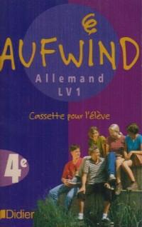 Aufwind : 4ème, LV1, pour l'élève (cassette audio)