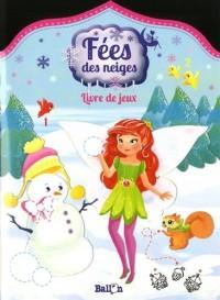 Fées des neiges : Livre de jeux