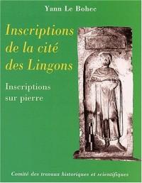 Inscriptions de la cité des Lingons : Inscriptions sur pierre