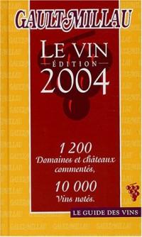 Guide Gault Millau des vins 2004