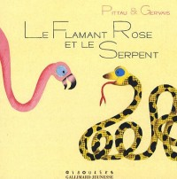 Le flamant rose et le serpent