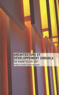 Architecture et développement durable