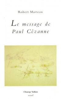 La message de paul Cézanne