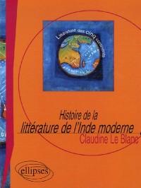Histoire de la littérature de l'Inde moderne : Le roman, XIXe-XXe siècle