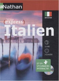 Italien initiation : 1 logiciel interactif, 2CD audio et 1 livre