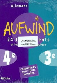 Aufwind : 4e, 3e (transparents)