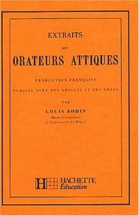 Classiques grecs : extraits des orateurs attiques, traduction française