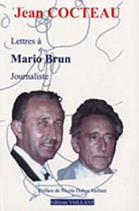Lettres de Jean Cocteau à Mario Brun